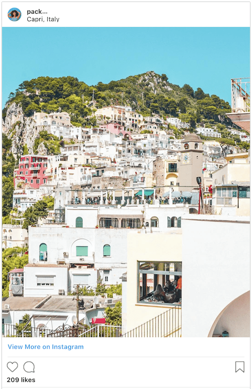 Capri Italy Itinerary - Packs Light