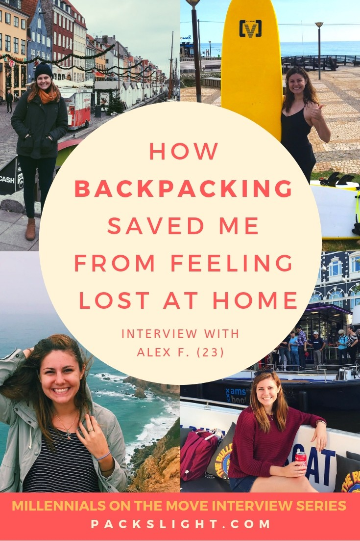 Alex (23) felt trapped at home in a monotonous routine. One day she got inspired to change everything and head on a backpacking trip to Europe. See how it changed her life. #backpacking #adventure #interview #youthtravel #travel