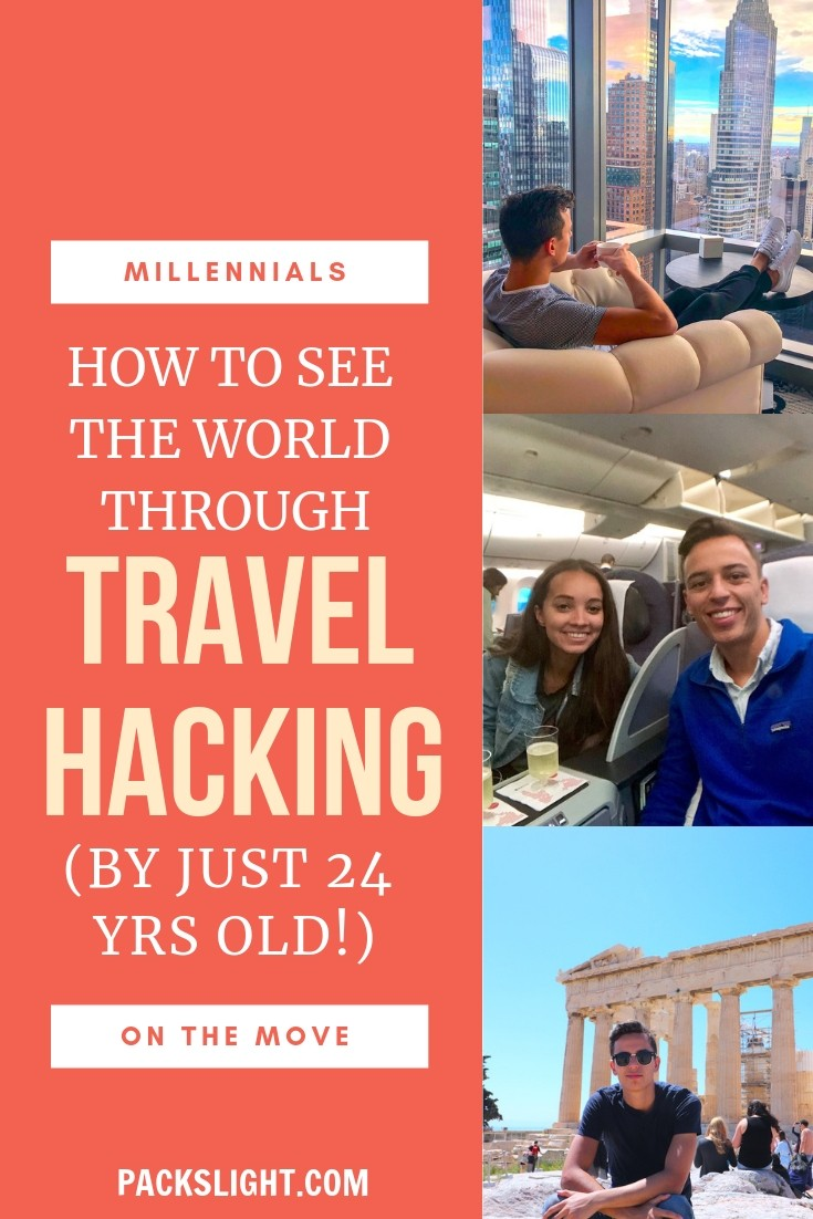 Interested in traveling for practically free, by spending the money you would have anyway? Jarrod (24) is an  EXPERT in travel hacking, and shares his tips. #travelhacking #freetravel #travelforfree #budgettravel #travelcreditcards #credittips #travel