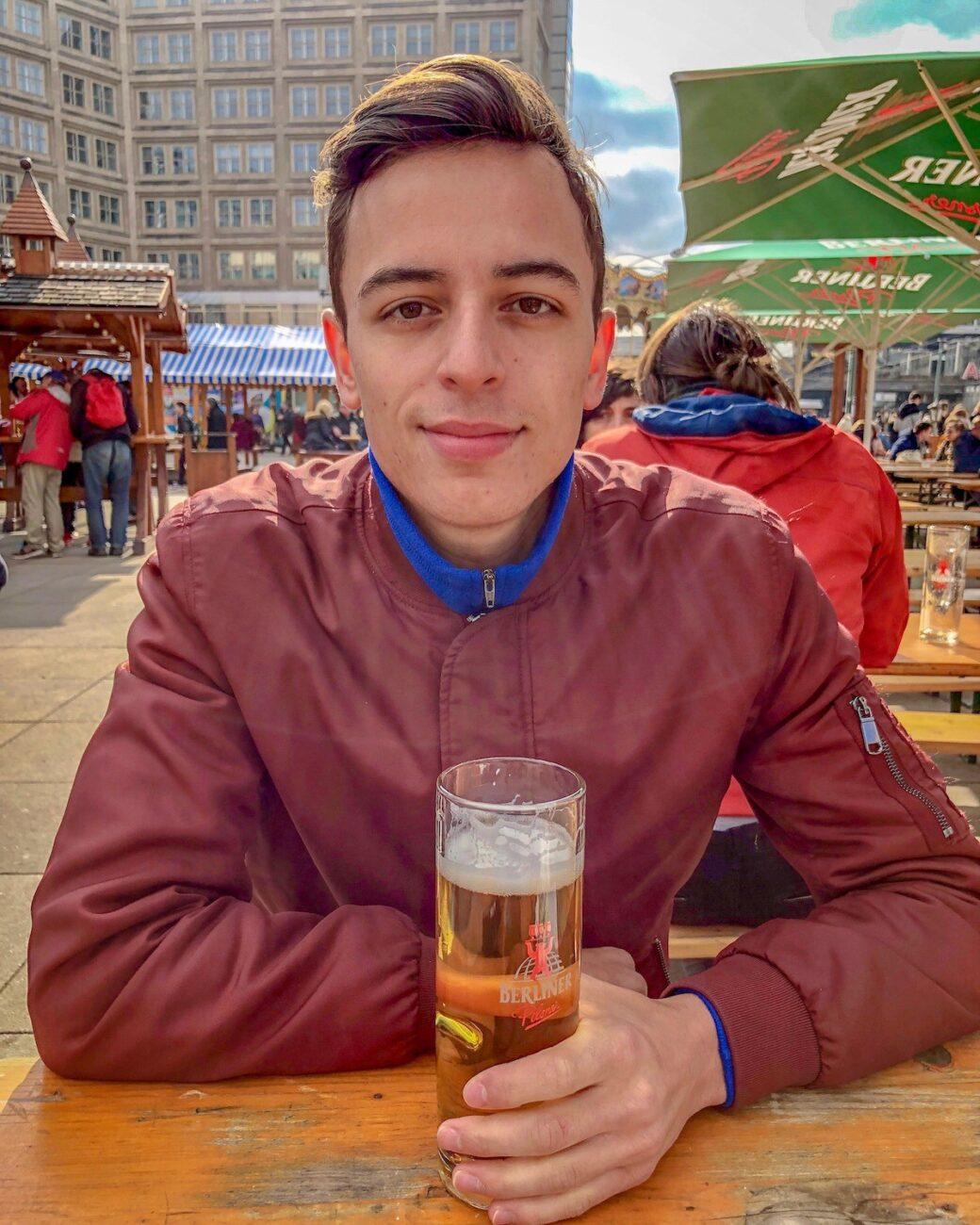MOTM Jarrod West Frequent Flyer Points Berlin