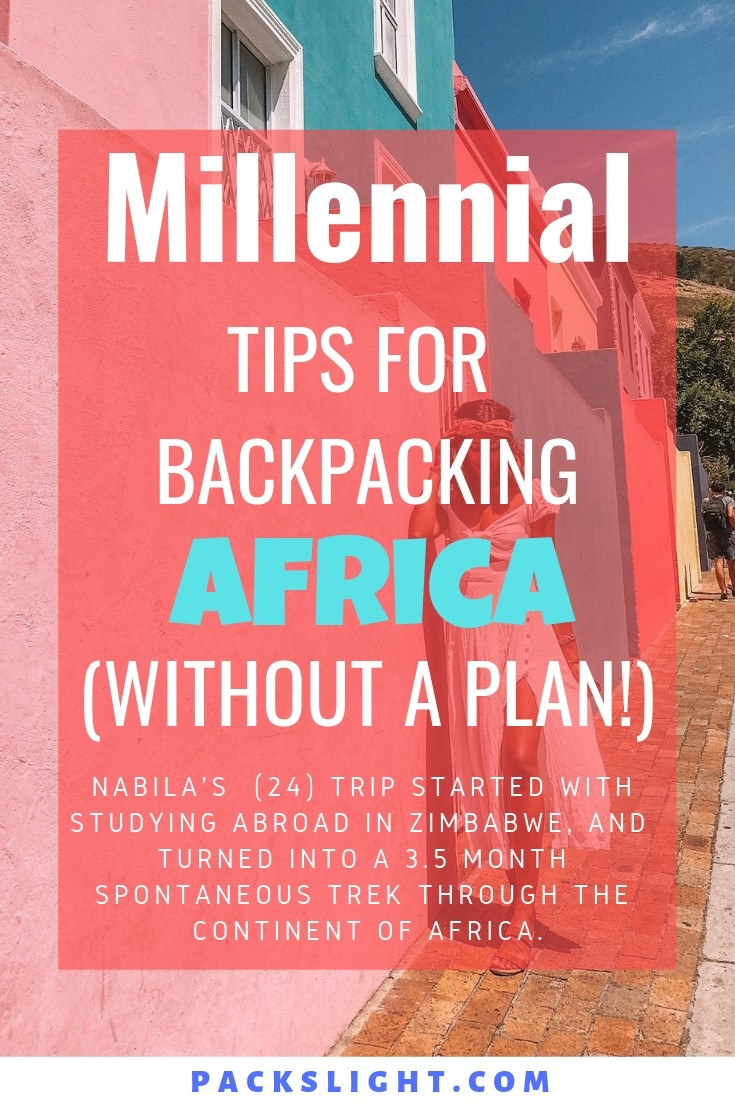 Traveler Nabila (24) turned her 1-week study abroad in Harare, Zimbabwe into a 3.5 month backpacking trip through Africa. See how you can do the same! #Africa #AfricaTips #travel #solotravel #solofemaletravel #femalesolotravel