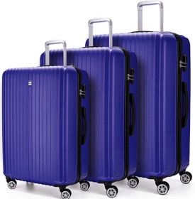 Three Piece Luggage Set Amazon Packs Light