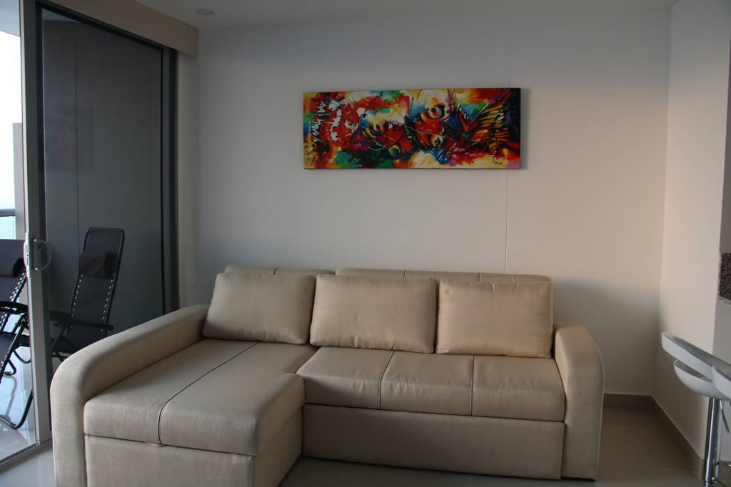 Cartagena Best Airbnb Living Room Photo