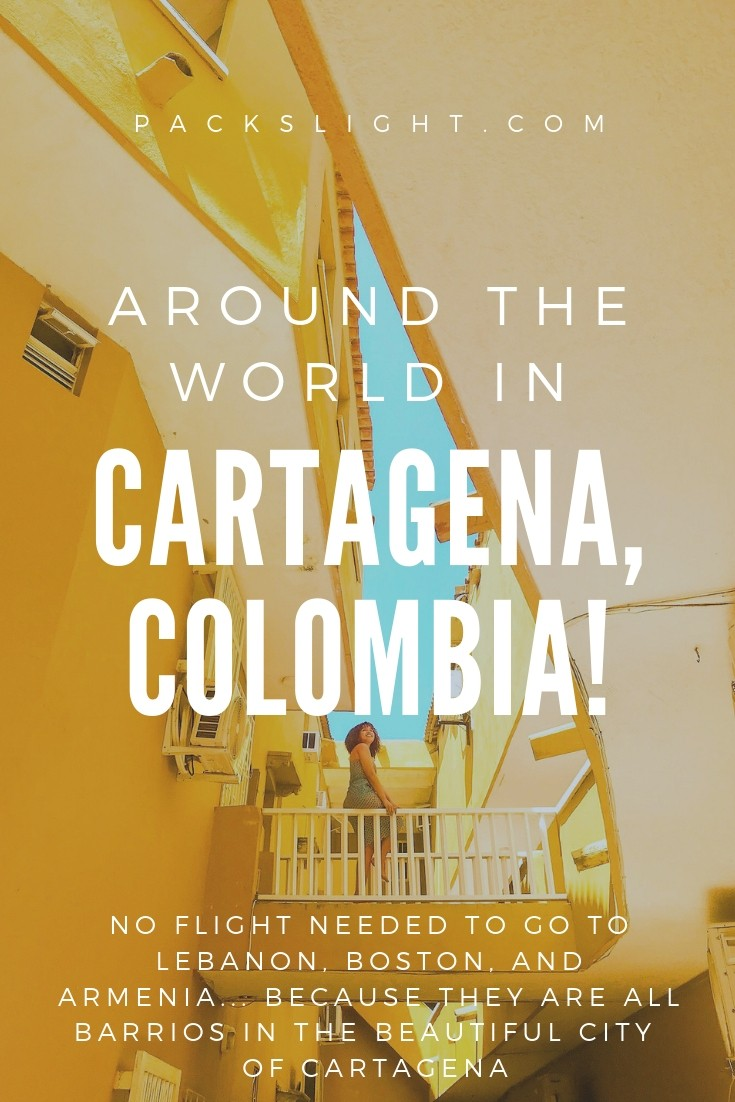 Armenia? Buenos Aires? Boston? It doesn't take a flight to see these places—they're all within the Colombian city of Cartagena. See for yourself! #Cartagena #Colombia #travel #femalesolotravel #adventure #SouthAmerica #latina #colombiana