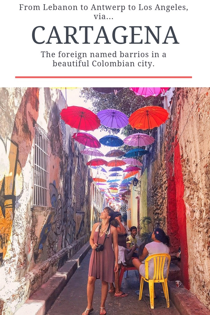Armenia? Buenos Aires? Boston? It doesn't take a flight to see these places—they're all within the Colombian city of Cartagena. See for yourself! #Cartagena #Colombia #travel #femalesolotravel #adventure
