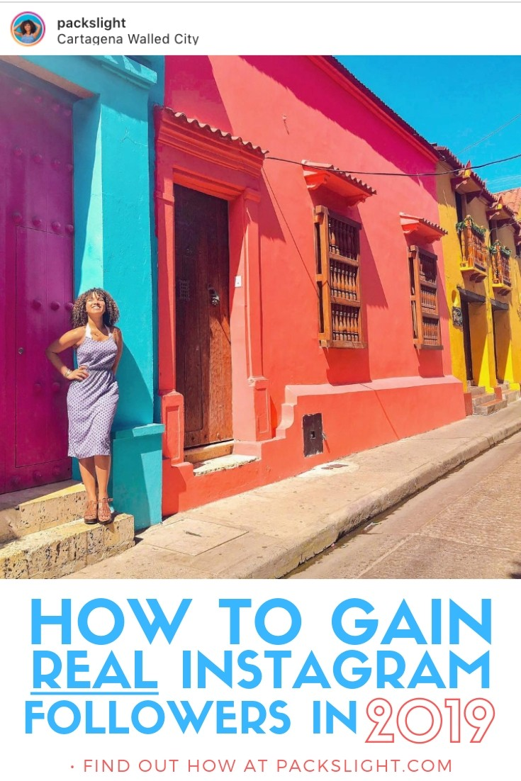 "It's 2019, and the dreaded Instagram algorithm seems to get worse by the day... Here are 9 unique tips (not just ""use hashtags"") to get you REAL Instagram followers in 2019 without buying engagement, follow/unfollow, or Instagram pods. #Instagram #blogging #travelblogging #gainfollowers #howtogainfollowers #IG"