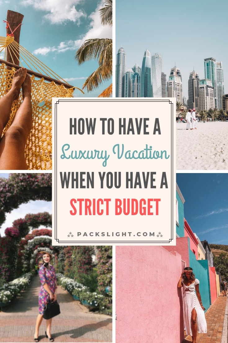 Wanna travel like a Kardashian but don't have any cash? Take tips from a travel blogger on how you can live the luxury travel lifestyle, on a budget! #budgettravel #luxurytravel #adventuretravel #luxury #budget #travelblogging #travel