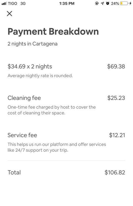 Cartagena AirBnb Where to Stay Price