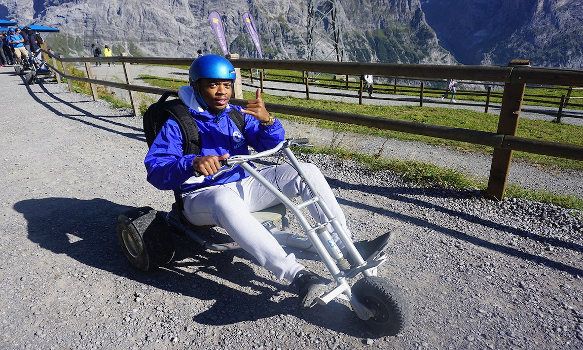 Mountain Carting - Young Black Adventure Junkie