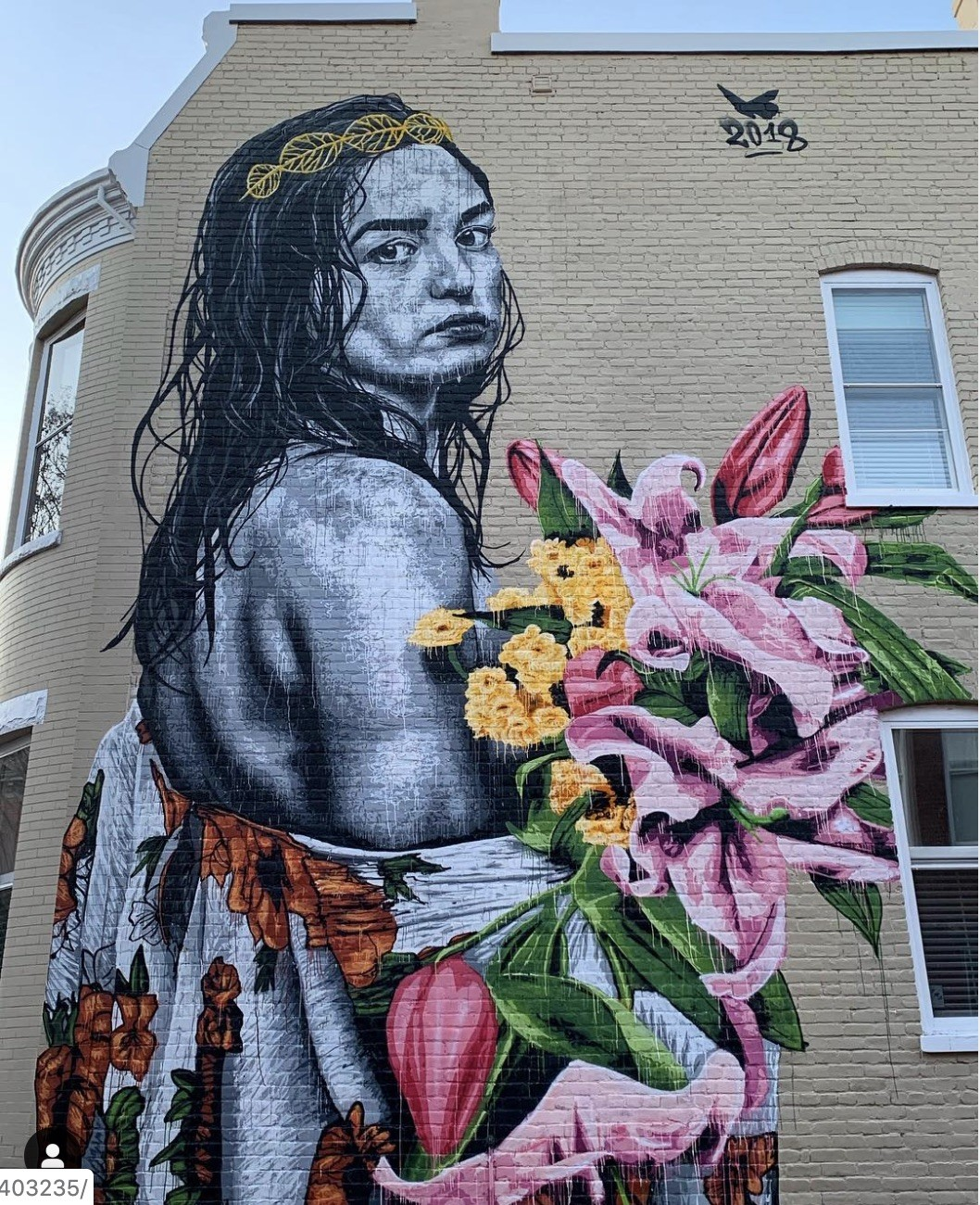 Rose Eileen - Packs Light RVA Street Art