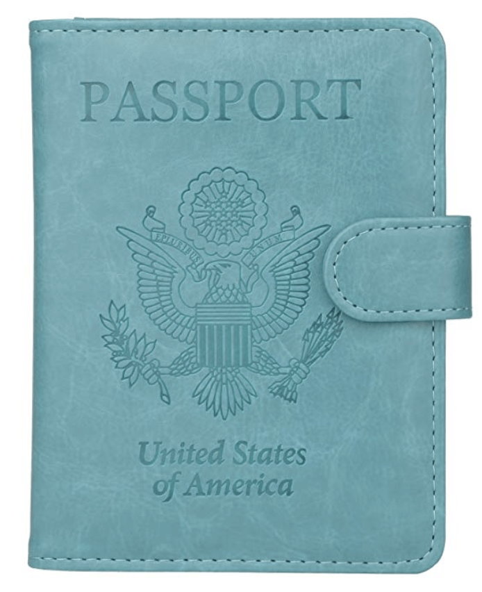 RFID Passport Wallet - Solo Women Travel Safety Tips