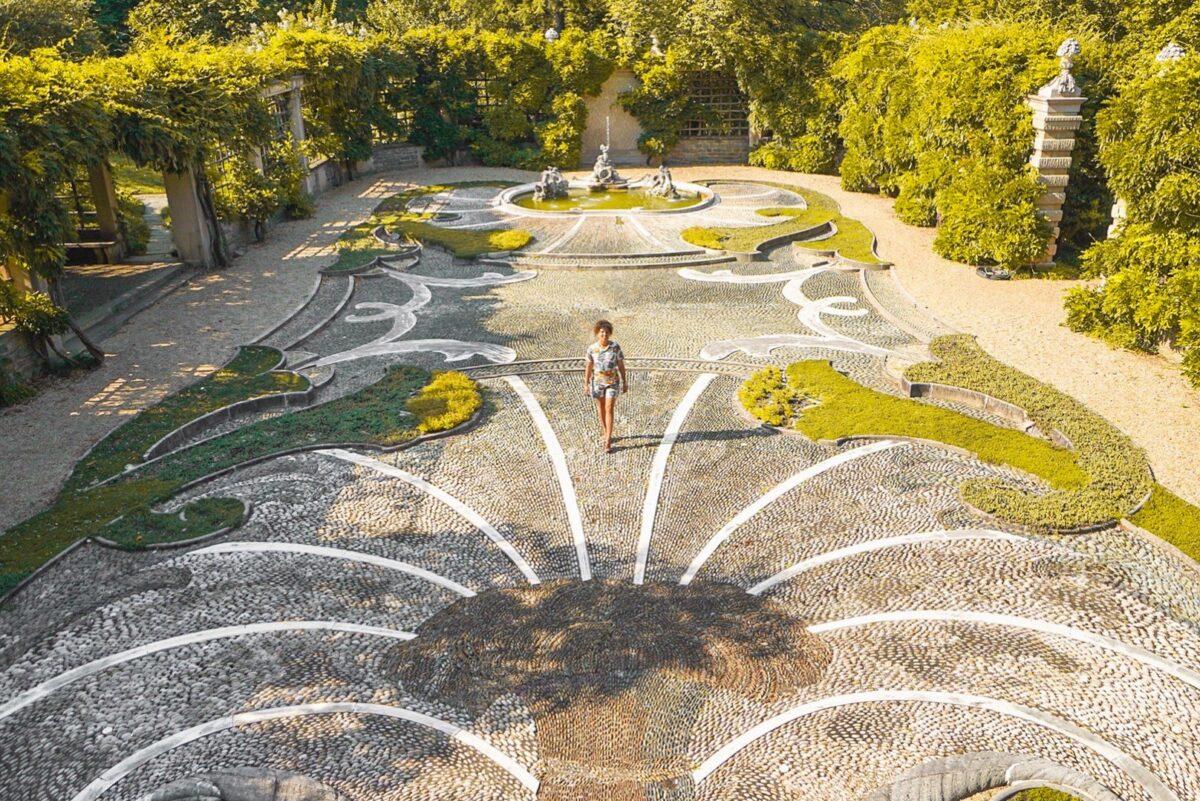 Dumbarton Oaks view