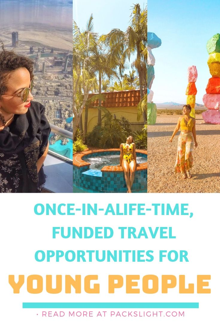 A list of open once in a lifetime opportunities (for now) for young people to apply to. Most are partially or completely funded, and travel internationally. #scholarship #studyabroad #travel #researchabroad #fellowships