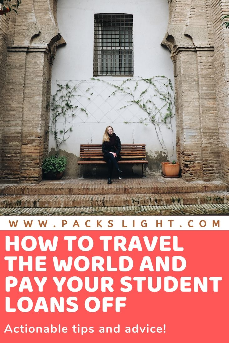 Brittany V. (25) shares how she's traveling the world despite her more than $70,000 in student loan debt. Suck on that, Sallie Mae! #studentloans #studentdebt #collegedebt #travelwithloans #collegetravel