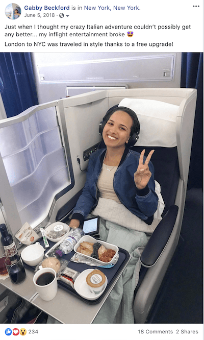 First Class July 2018 British Airways