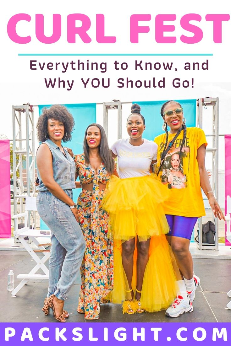 Looking for an event full of black girl magic, beautiful hair, colorful decor, bomb music, and good food? Aka, heaven? I got you at Curl Fest NY! #curlyhair #blackhair #naturalhair #festival #afrofest