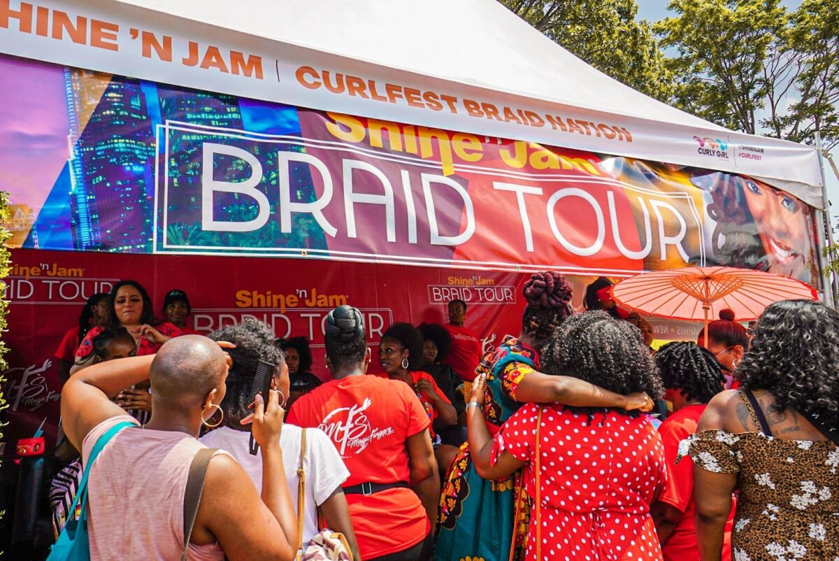 Braid Booth Curl Fest NYC 2019