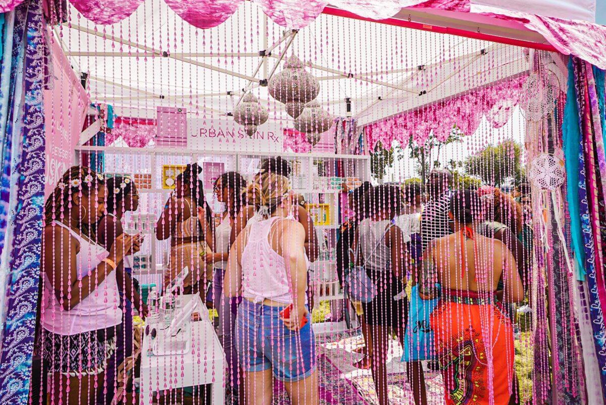 Urban Skin Rx Booth Curl Fest 2019 NYC