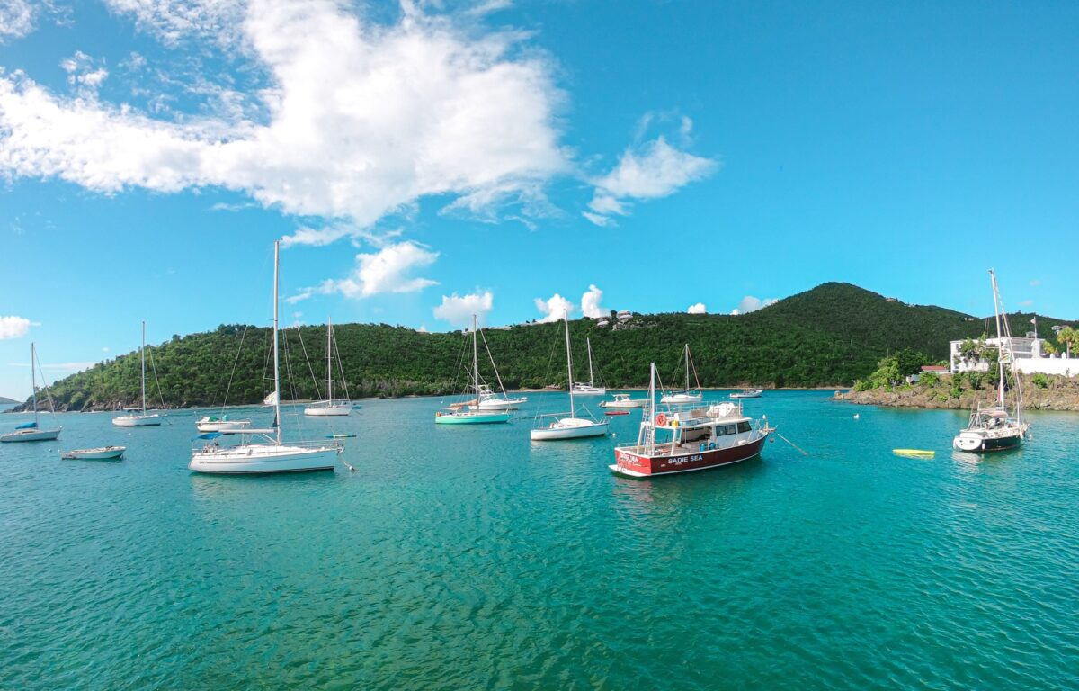 U.S. Virgin Islands boats in St. Thomas harbor