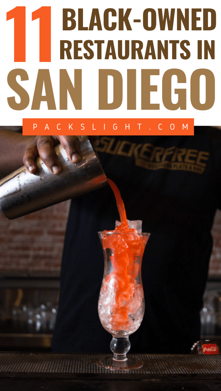 11 black-owned restaurants, food spots, and cafes in San Diego! Help out multigenerational minority in this seaside city and and feel good, AND eat good. #SanDeigo #California #CaliforniaTips #SanDiegoFood #Food