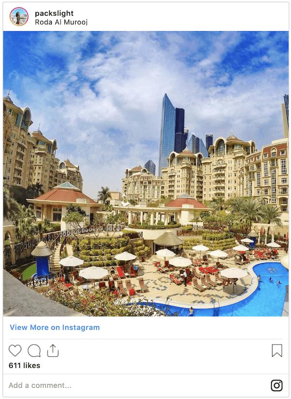 Roda Al Marooj - Downtown Dubai
