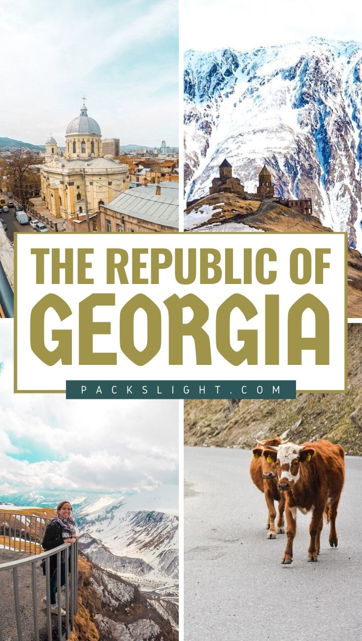 Picture s of the Republic of Georgia that will have you Googling cheap flight Tbilisi in seconds, I promise! #RepublicofGeorgia #Georgia #Tbilisi #CaucasusMountains #Travel #Europe