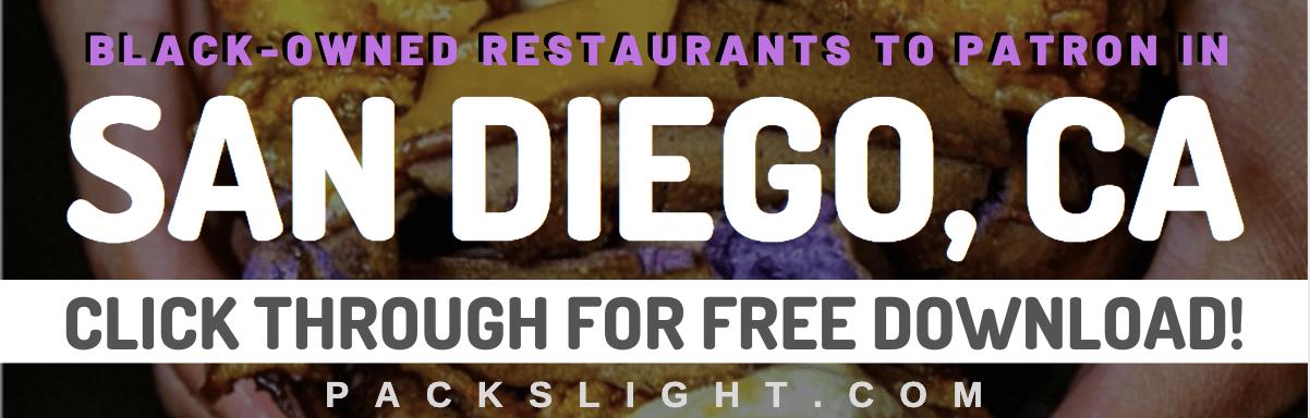 Black Owned Food San Diego