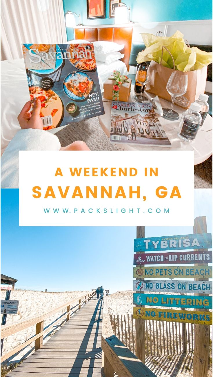 3-Day weekend in Savannah, GA? See where you should stay, what you should do, where you should drink, and a few more travel tips right here. #SavannahGA #USATravel #NorthAmerica #Georgia #Savannah