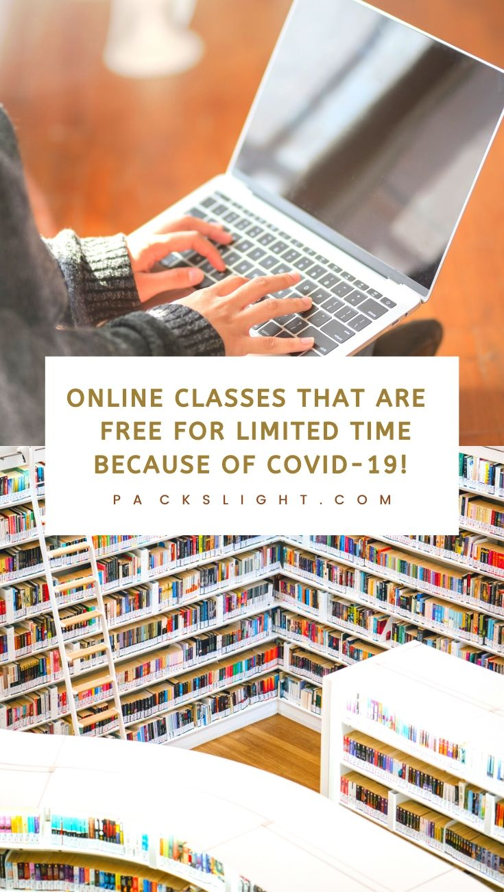 Trying to make the most of your COVID-19 homebound time? Check out these 12+ online classes from MIT, Yale, WHO, Harvard, Nikon, and more. #WFH #online #remotejobs #onlineclasses #education #learning