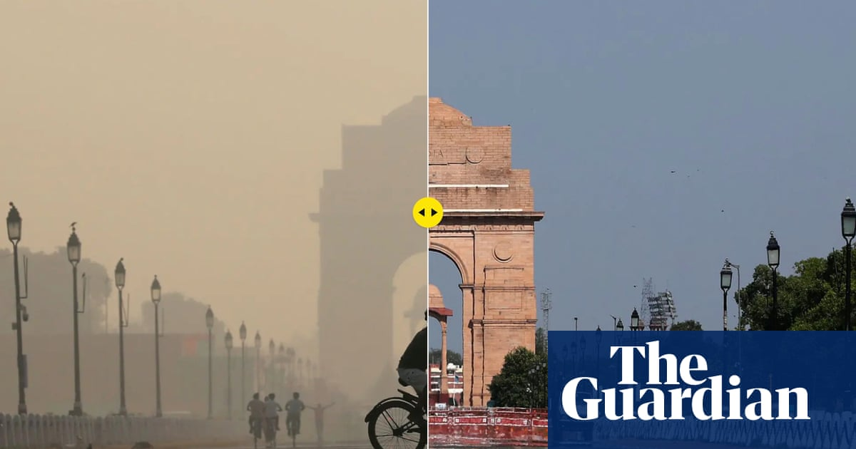 The Guardian New Dehli Air Quality