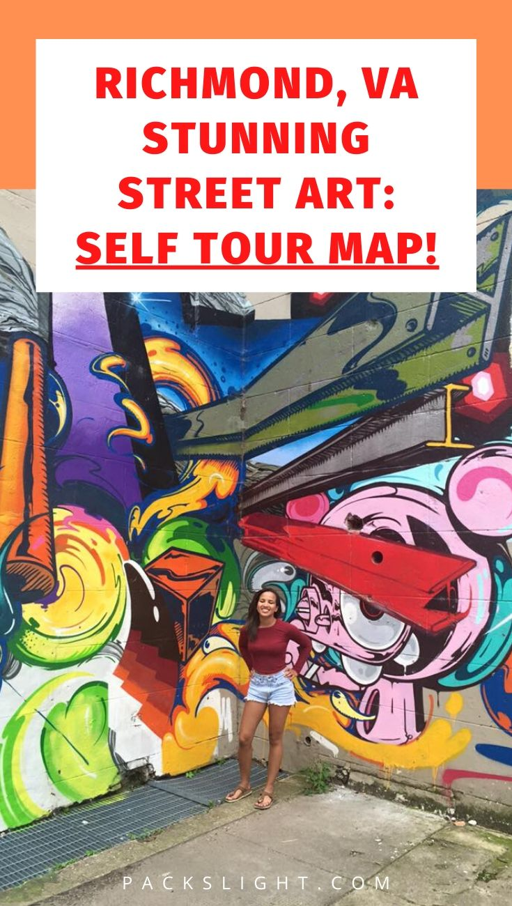 An interactive Google Map to guide you directly to Richmond, Virginia's street art murals, from Carytown to Shockoe Bottom, from Northside to Southside. #richmondva #virginia #tourism #streetart
