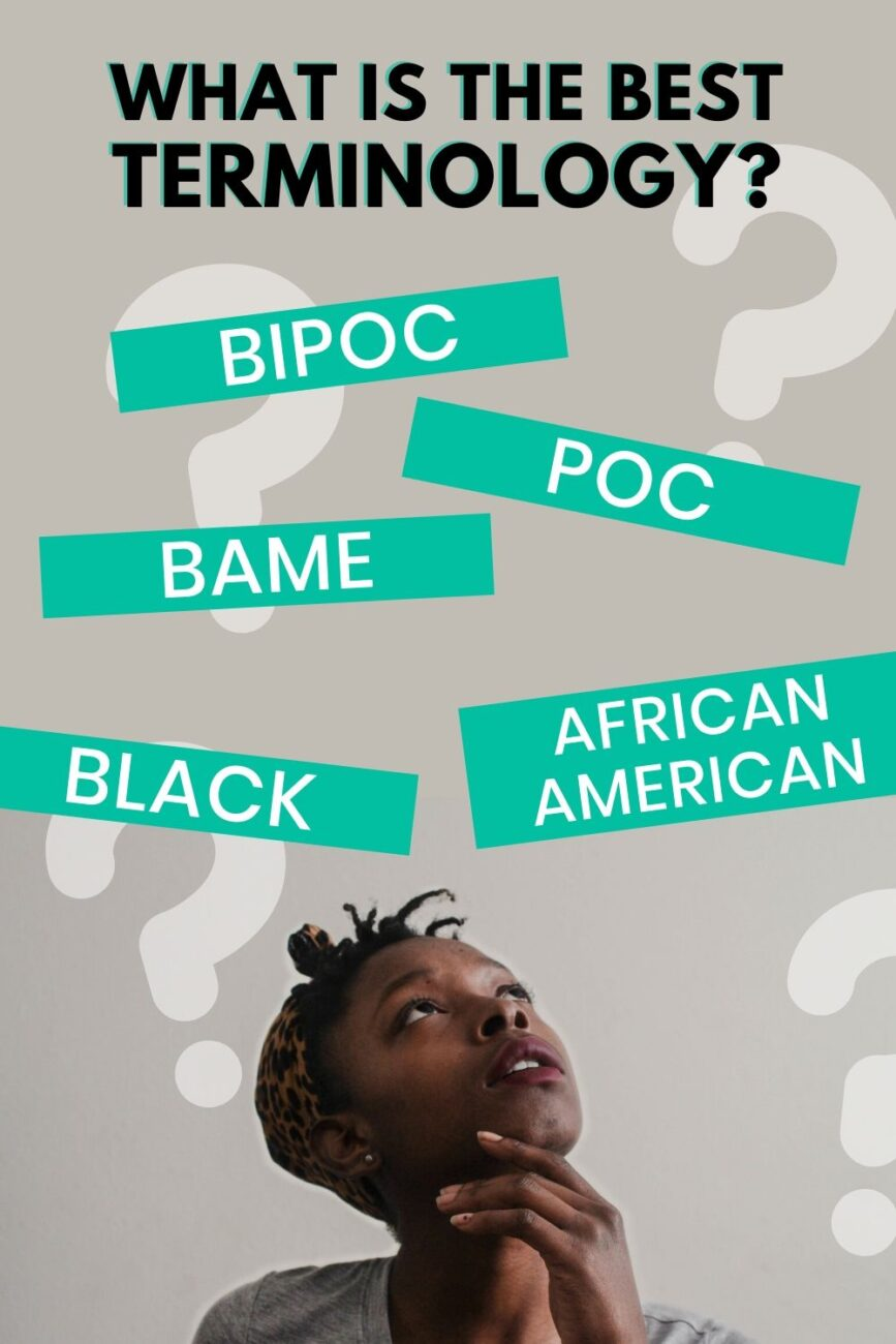 Black or BAME or BIPOC or POC or Black? What is the difference between them? Click through and continue your self-education. #BlackLivesMatter #BlackVoices #BlackCreators #BlackBloggers