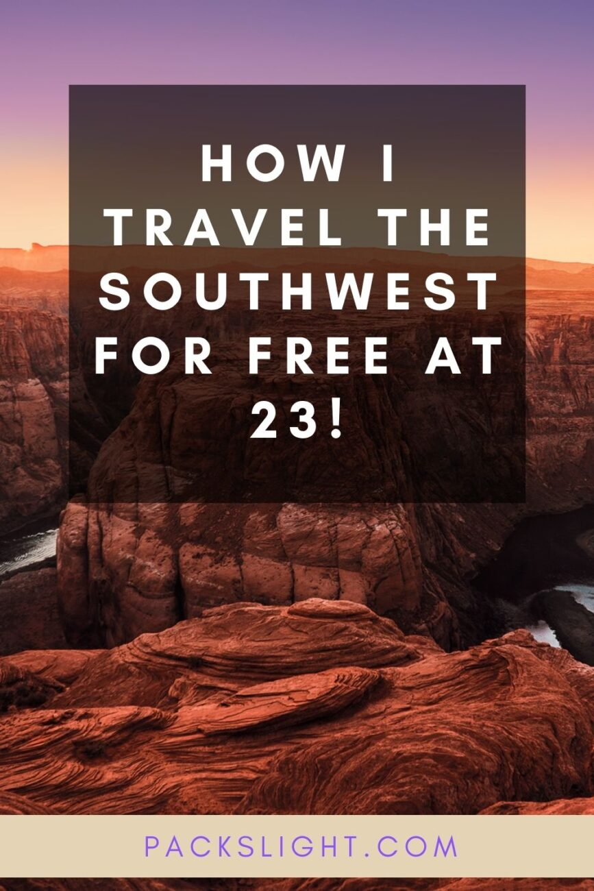 Find out how Kelsey travel throughout the Southwest for free doing environmental work. Check out how you can travel without breaking the bank too!