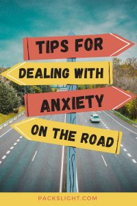Having anxiety can make traveling very stressful. This article offers tips to for dealing with anxiety and panic attacks while on the road.