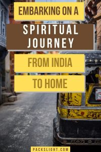 Seren, 22, shares how the spiritual journey she experienced in India brought her comfort and purpose when her trip ended early due to COVID.