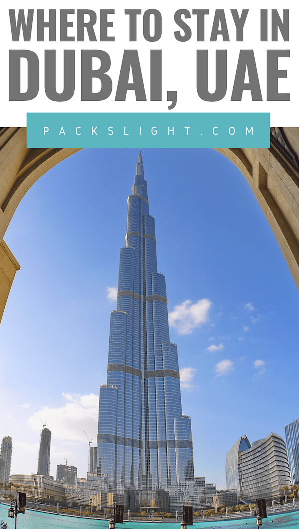Dubai has an array of accomodations for you based on budget, trip length, activities. So, what part of the city should you stay in? Use this guide to decide!
