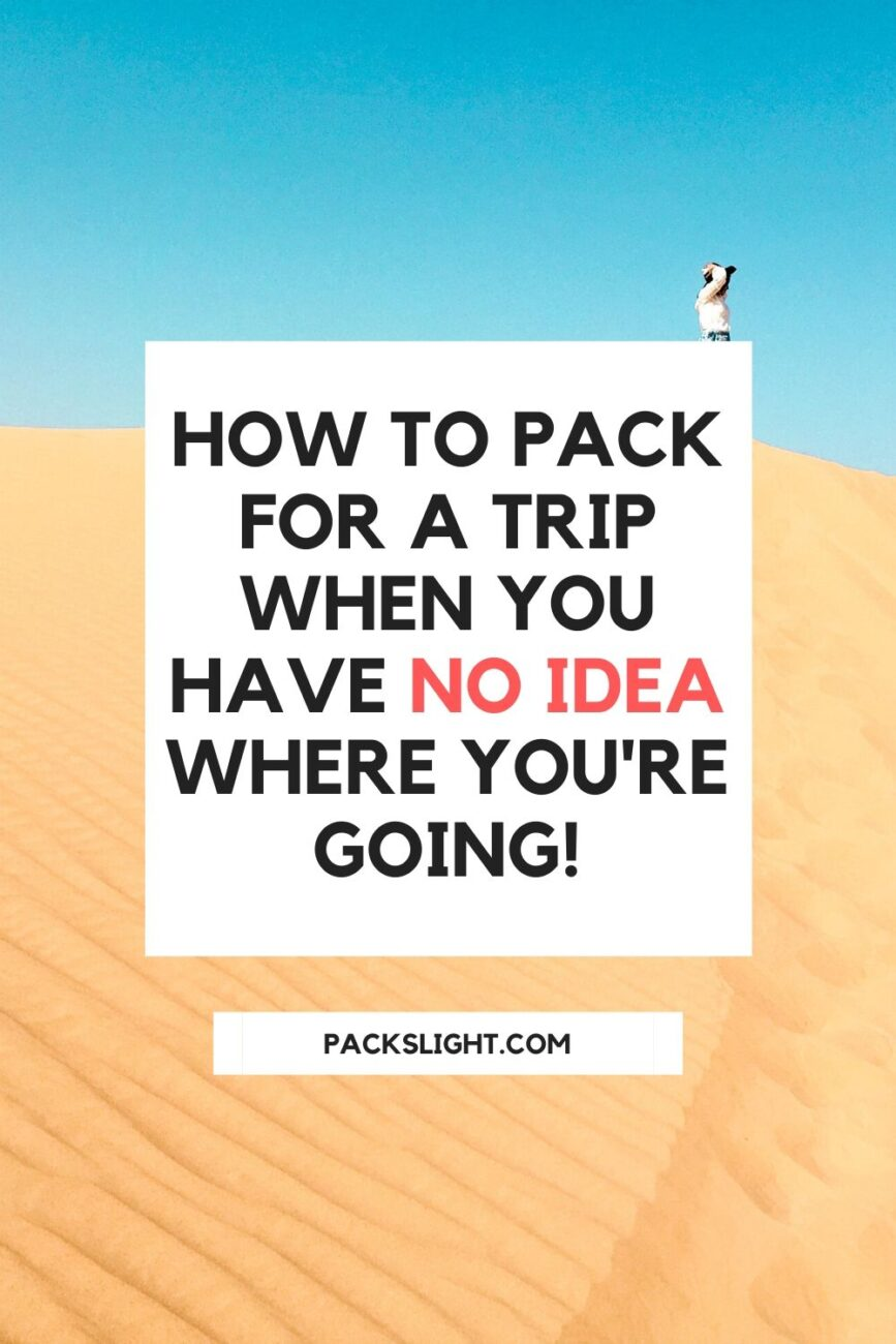 Have you ever showed up to the airport and bought the cheapest ticket possible? I have! One of the trickiest parts? Packing a carry-on for the adventure!