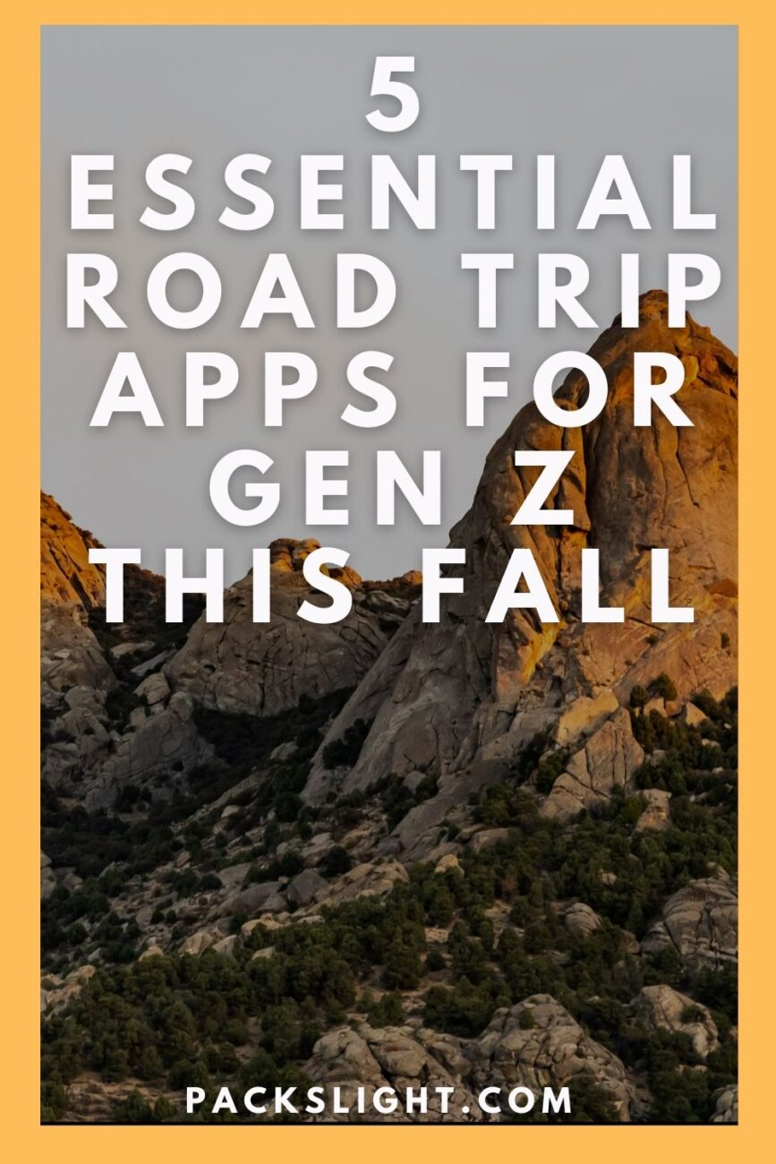 Recently, Gen Z are taking more road trips over international travel. Here are 5 essential road trip apps you NEED for your next adventure.