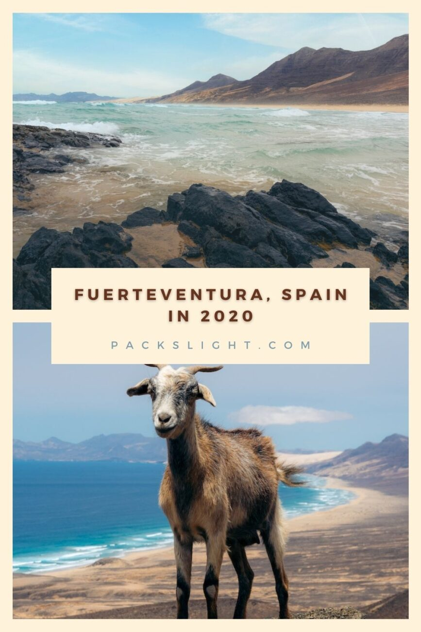 All about the island of Fuerteventura, in the Canary Islands. Life there normally, where to visit, what to do, and how they are handling COVID.