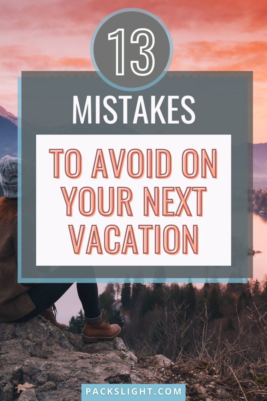 Check out these common mistakes that young travelers fall into when on their global adventures, and avoid falling into them yourself!