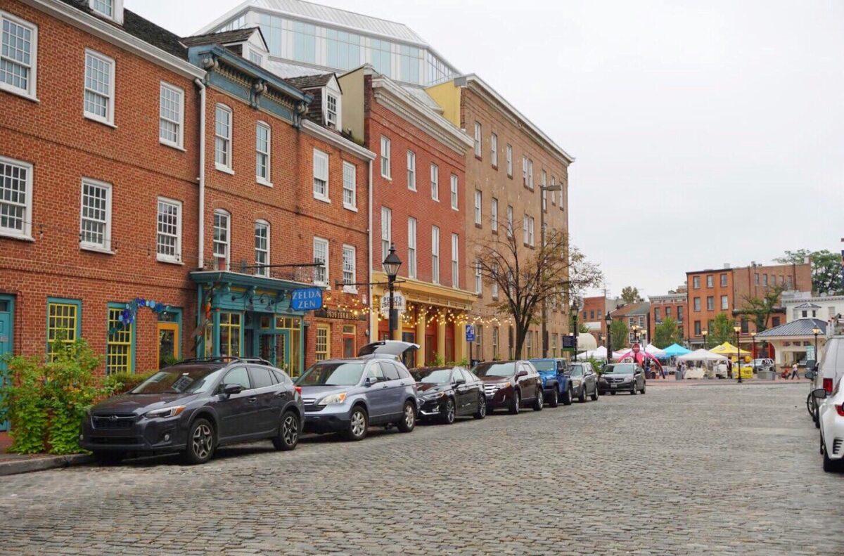 Historic Fells Point Baltimore Maryland