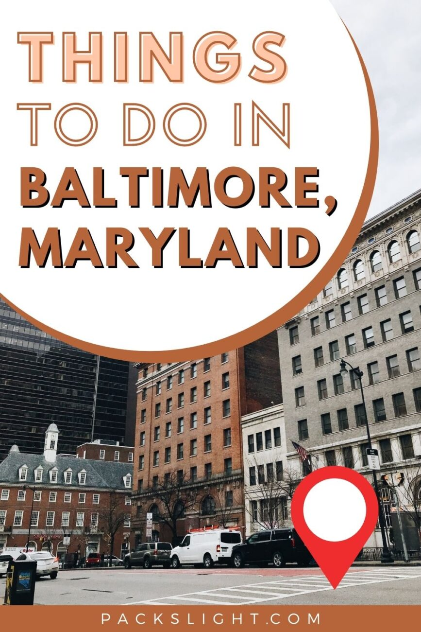 A Black Baltimorean girl's guide to seeing the city. Where to eat, things to do, and how to do them in the pandemic. Come visit!