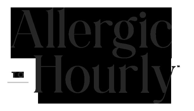 Allergic to Hourly Logo