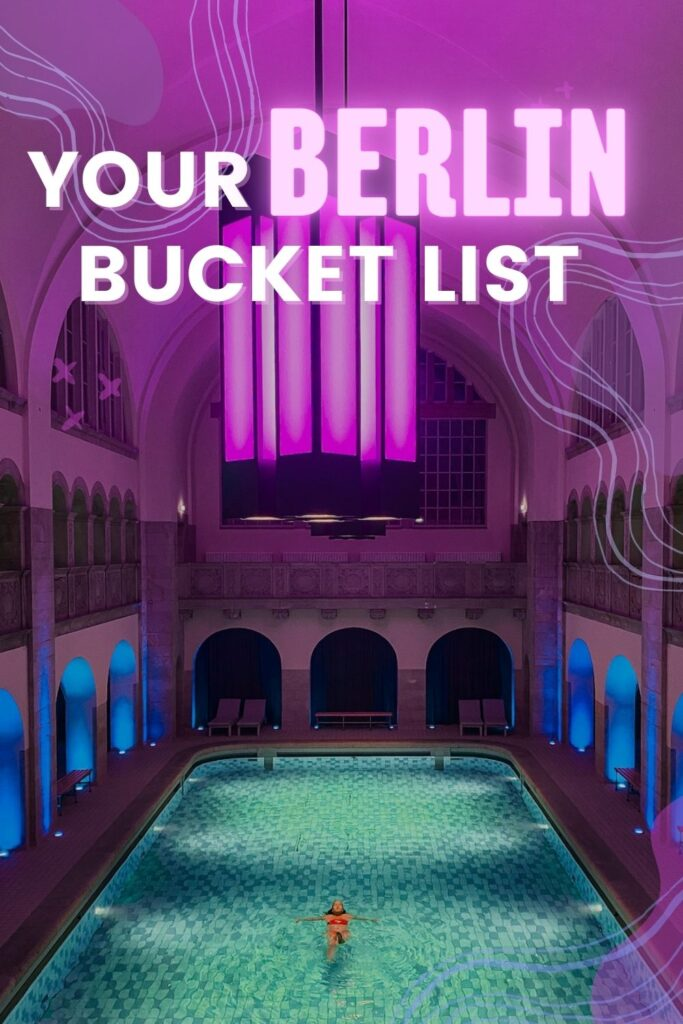 """Gen Z, add some spice to your weekend Berlin itinerary with these """"only found in Berlin"""" activities. Fancy hotdogs, fancy hotels, and a trip to Little Venice!"""