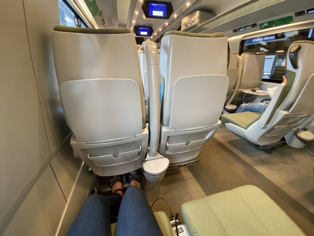 Krakow to Warsaw Poland Train Experience1