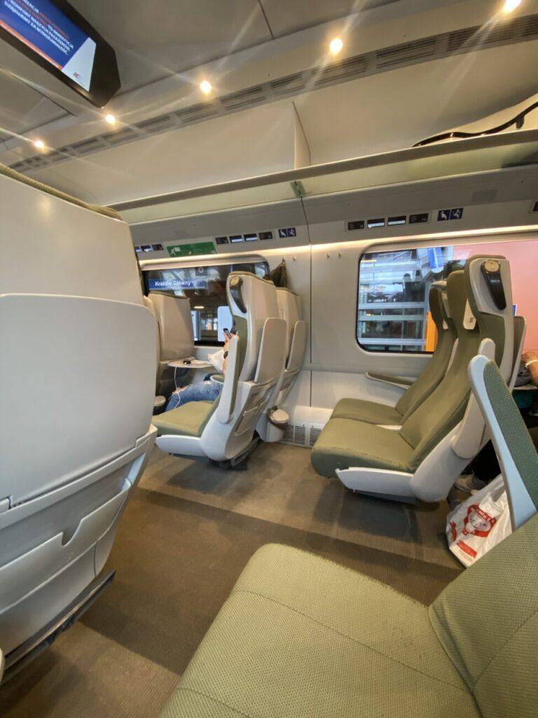 Krakow to Warsaw Poland Train Experience2